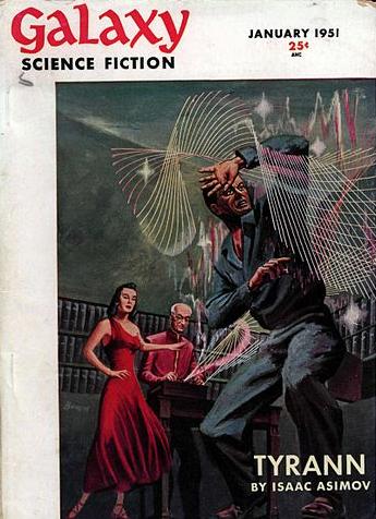 Die Science-Fiction-Reihe Galaxy von Isaak Asimov