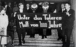 """""""Eine zivilisatorische Notwendigkeit"""": Die Studenten-Revolte von 1968"""