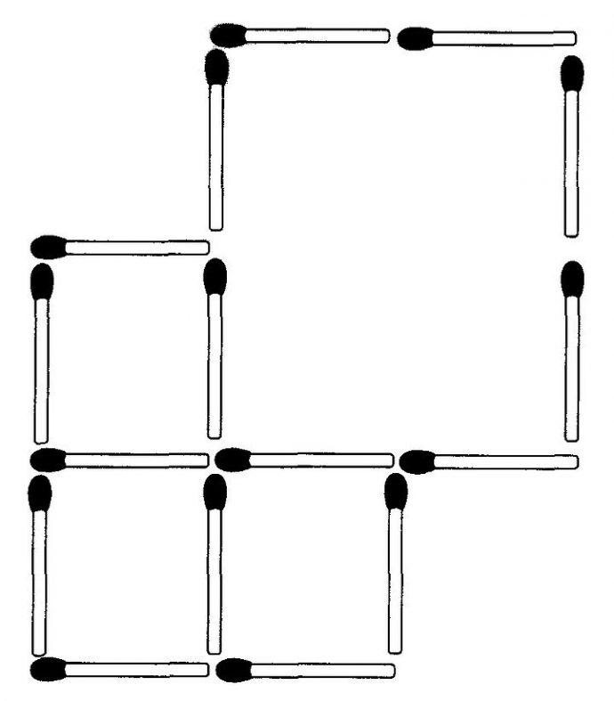 Streichholzrätsel Nr.11 Glarean Magazin