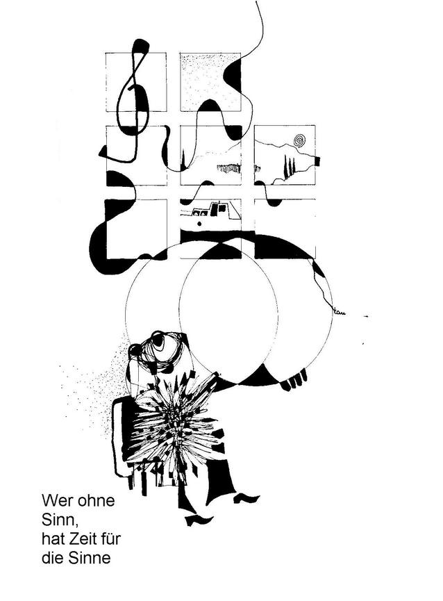 Wer ohne Sinn, hat Zeit für Sinne (Otto Taufkirch)