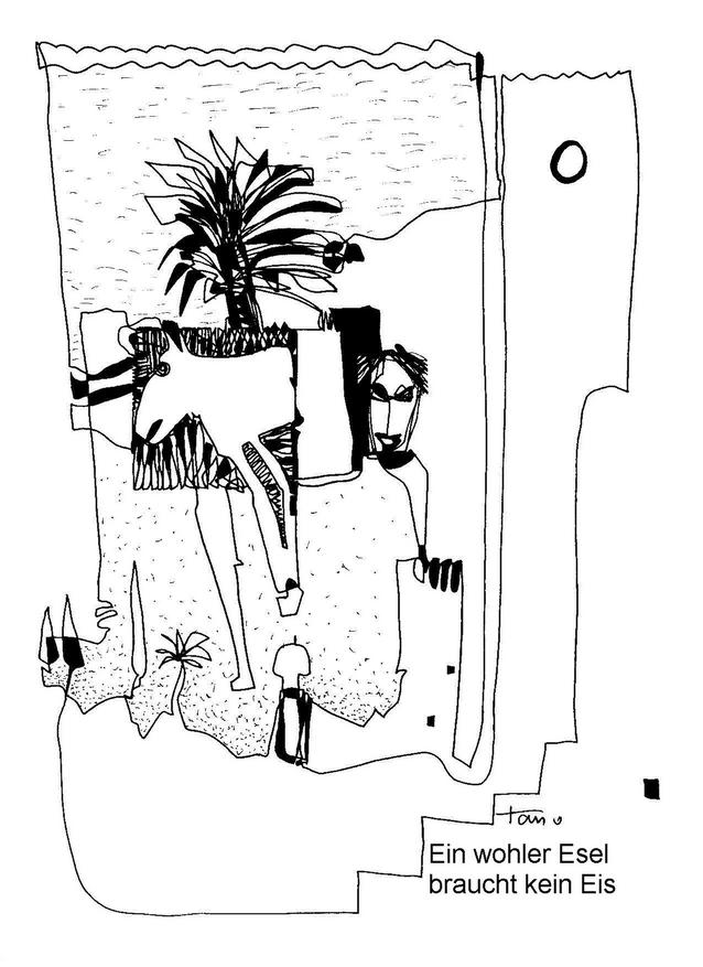 Ein wohler Esel braucht kein Eis (Otto Taufkirch)