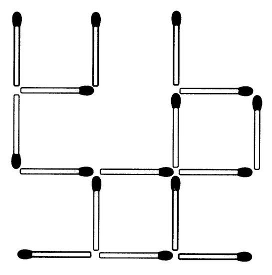 Das neue Streichholz-Rätsel (Februar 2009)