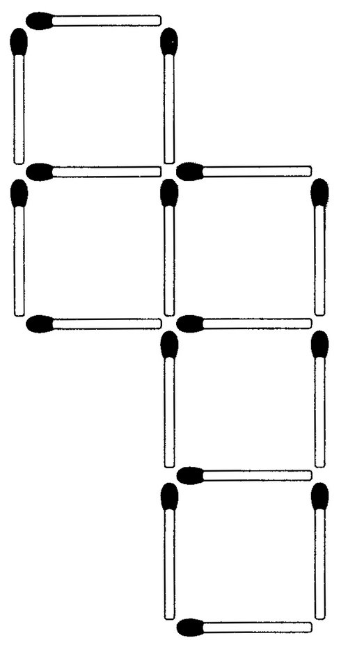 Das neue Streichholzrätsel (März 2009)