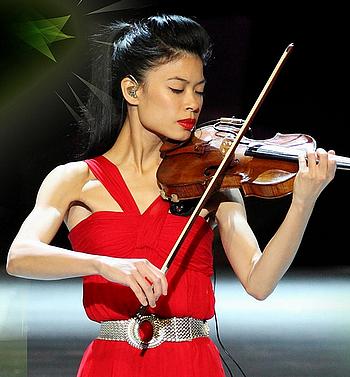 Virtuos, aber umstritten: Die Pop-Geigerin Vanessa Mae