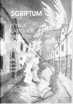 Literaturzeitschrift SCRIPTUM Nr. 05 - Cover