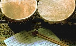 Eines der Hauptinstrumente der Altorientalischen Medizin (AOM): Die türkische Kudüm-Trommel