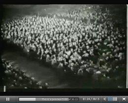 Fast das gesamte deutsche Volk jubelte seinem Führer begeistert zu (Video-Dokument: «Adolf Hitler spricht im Berliner Sportpalast»)