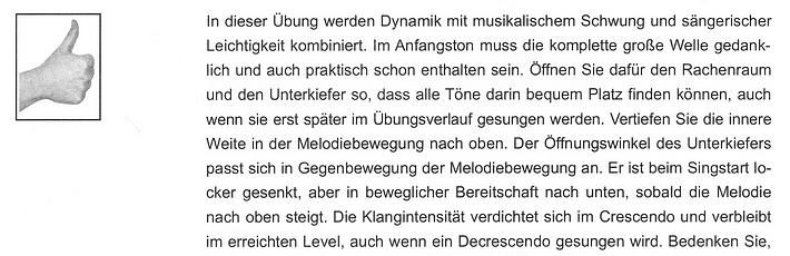 """Leseprobe 2 aus Martina Freytag: Einsingen (""""Dynamik mit sängerischer Leichtigkeit kombiniert"""")"""