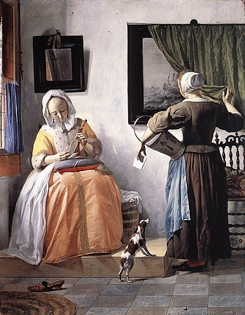 Gabriel Metsu: Brief-Leserin