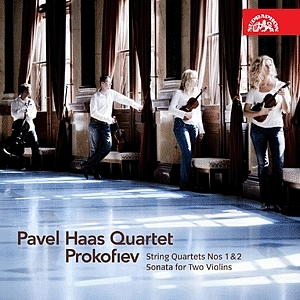 Pavel-Haas-Quartett: Prokofiev - String Quartets Nos 1 & 2 - Sonata for Two Violins (Supraphon)