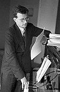 Dmitri Schostakowitsch (Hörbeispiel auf Youtube: «Der Tod des Dichters» / 14. Sinfonie)