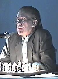 Bent Larsen als Kommentator am Politiken Cup 1996 - Glarean Magazin
