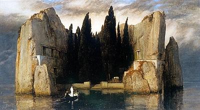 """Arnold Böcklin: """"Die Toteninsel"""""""