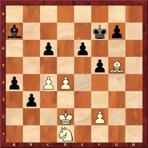 Schach-Studie Stubborness (M. Neghina - Glarean Magazin)