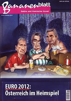 Bananenblatt - Satire und Komische Kunst - Euro 2012 - Österreich im Heimspiel