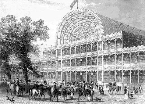 Imposanter Schach-Turnier-Saal: Der Londoner «Crystal Palace» im Jahre 1851
