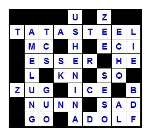 Das neue Schach-Kreuzworträtsel (Februar 2014) - Lösung