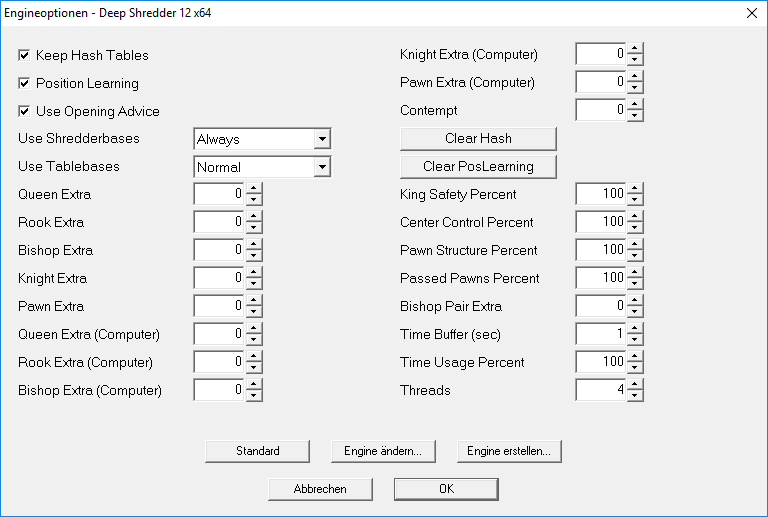 shredder-12-engineoptionen