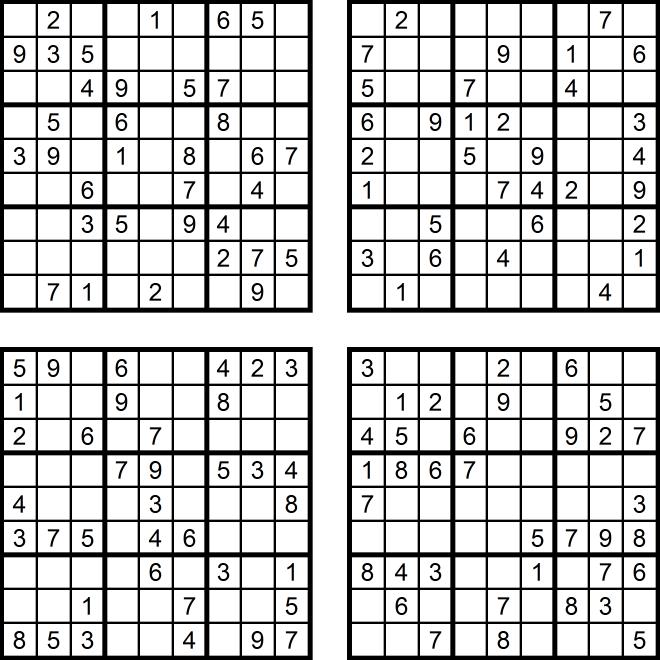 Das Sudoku Quartett im Juni 2017   Glarean Magazin