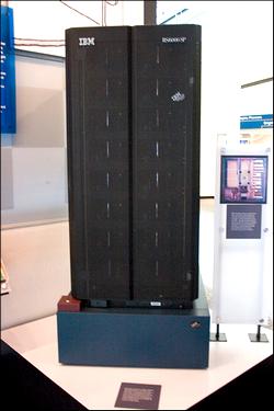 Einer der Urväter des modernen Computerschachs: Der IBM-Großrechner Deep Blue von 1996 (Match-Sieger 1997 gegen Weltmeister Garry Kasparow)