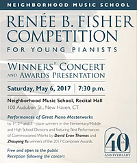 Musik-Kompositionswettbewerb - Renee B Fisher Competition - Glarean Magazin