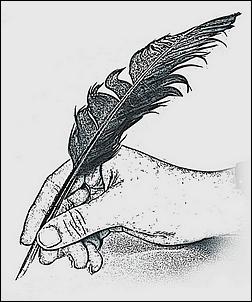 Schreibfeder - Handschrift - Zeichnung Glarean Magazin