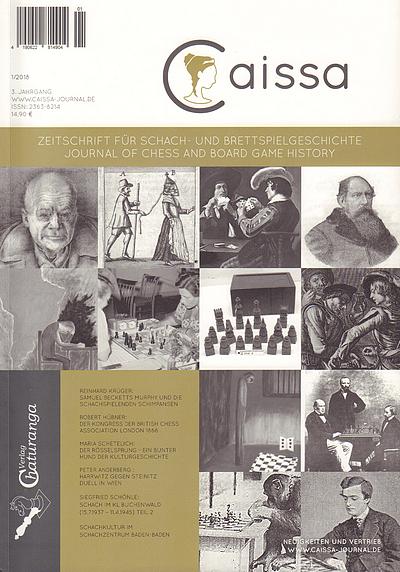 Caissa - Schach-Zeitschrift - Chaturanga Verlag - Rezension Glarean Magazin