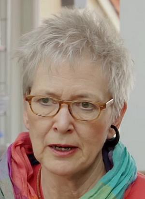 Die Schriftstellerin Roswitha Quadflieg (Geb. 1949 in Zürich)