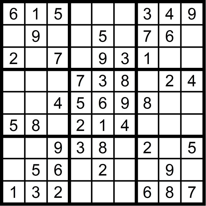 Vier Einfache Sudoku Rätsel November 2018 Glarean Magazin
