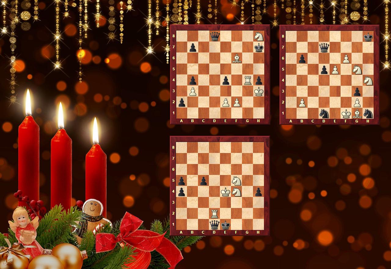 Schach-Kerze zum 3. Advent 2018 - Glarean Magazin