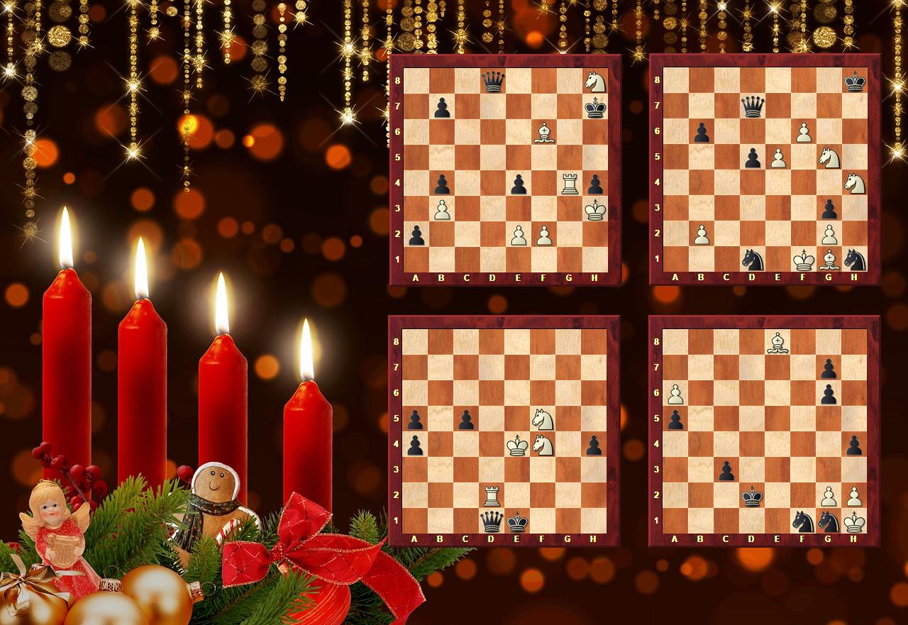 Schach-Kerze zum 4. Advent 2018 - Glarean Magazin