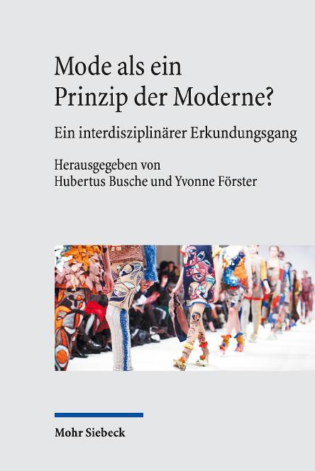 Mode als Prinzip der Moderne - Cover - Rezension Glarean Magazin